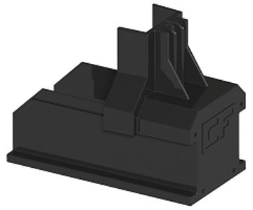 Afbeeldingen van ClickFit Evo - Montagerail Eindkap zwart