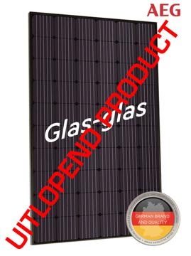 Afbeeldingen van AEG AS-M1202G GLAS-GLAS 325W Mono Zwart Frame